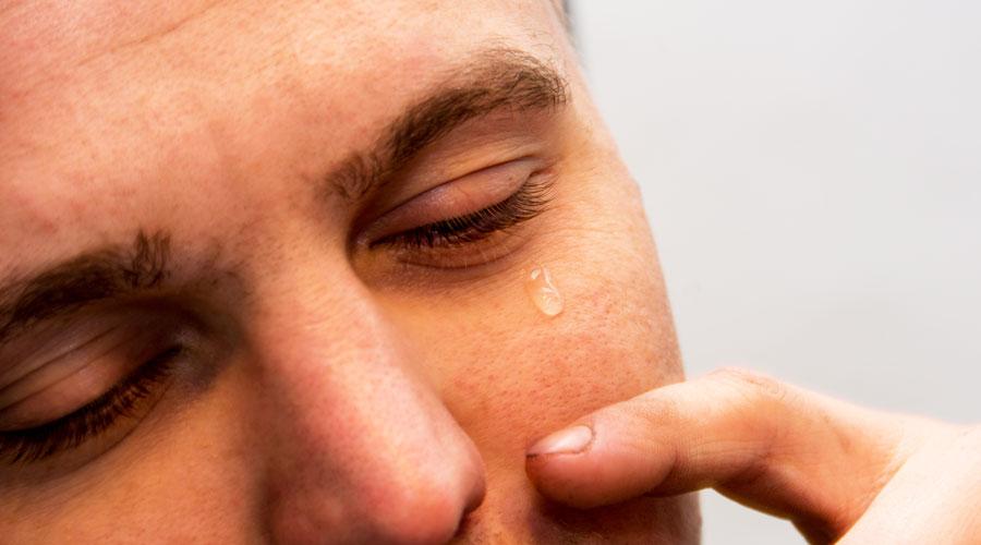 Trockene Augen Symptome